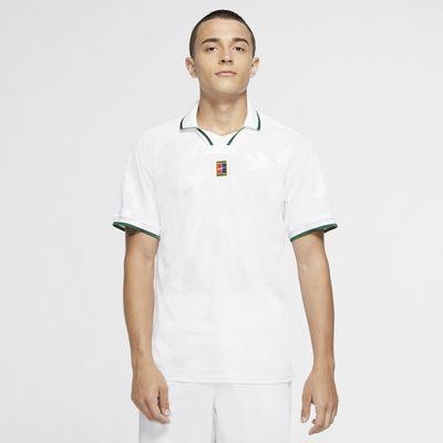 Pánská tenisová polokošile NikeCourt Breathe Slam
