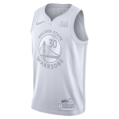 เสื้อแข่ง Nike NBA ผู้ชาย Stephen Curry Warriors MVP