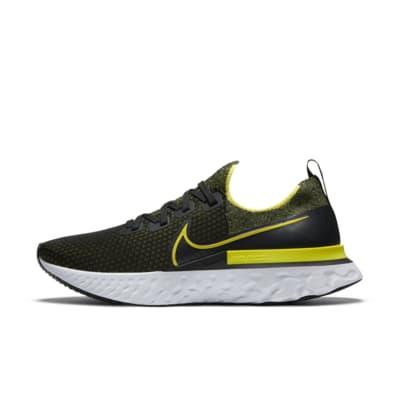 nike running shoes yellow