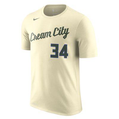 Giannis Antetokounmpo Bucks City Edition Nike Dri-FIT NBA Erkek Tişörtü