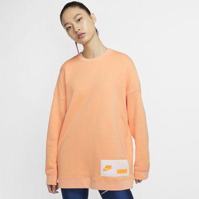 Nike Sportswear NSW 女子宽大针织圆领上衣