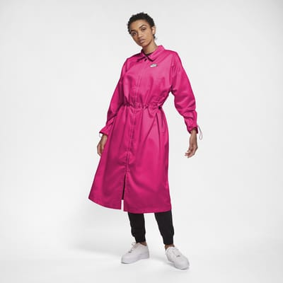 Nike Sportswear Icon Clash lang satengjakke til dame