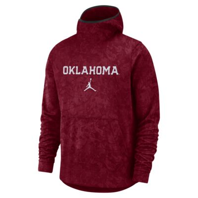 Jordan College Dri-FIT Spotlight (Oklahoma) Men's Pullover Hoodie