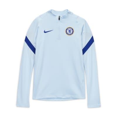 Chelsea FC Strike Older Kids' Football Drill Top