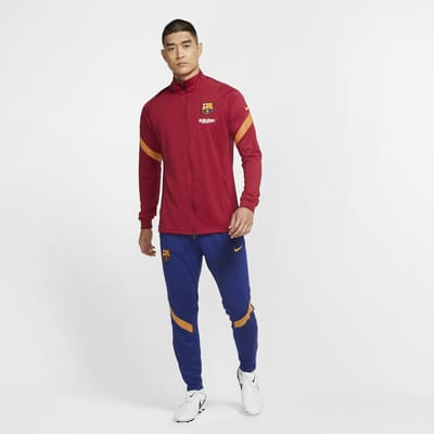F.C. Barcelona Strike Men's Knit Football Tracksuit