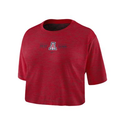 Nike College Dri-FIT (Arizona) Women's Cropped T-Shirt