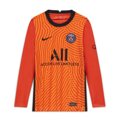 Paris Saint-Germain 2020/21 Stadium Goalkeeper Older Kids' Football Shirt
