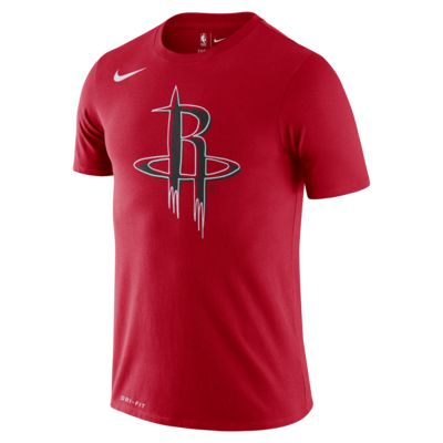Houston Rockets Logo Men's Nike Dri-FIT NBA T-Shirt