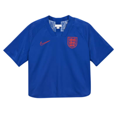 英格兰队女子双面设计短袖足球上衣