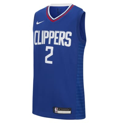Kawhi Leonard Clippers Icon Edition Swingman Nike NBA-jersey voor kids