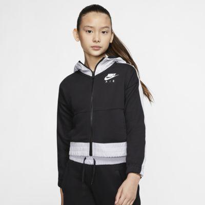 Sweat à capuche et zip Nike Air pour Fille plus âgée