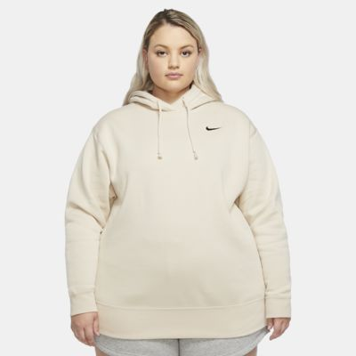 Nike Sportswear-fleece-sweatshirt til kvinder (Plus Size)