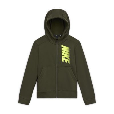 Nike Dri-FIT Older Kids' (Boys') Fleece Graphic Full-Zip Hoodie
