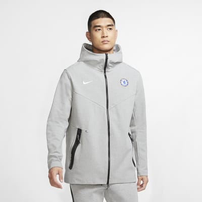 Chelsea F.C. Tech Pack Men's Full-Zip Hoodie