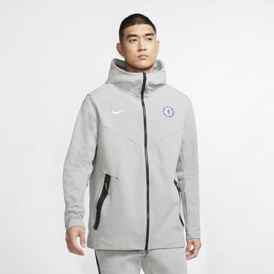 Chelsea F.C. Tech Pack Men's Full-Zip Hoodie