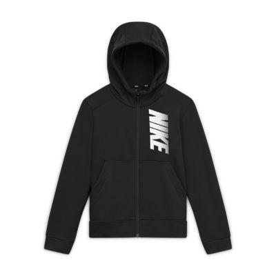 Nike Dri-FIT Older Kids' (Boys') Fleece Graphic Full-Zip Hoodie