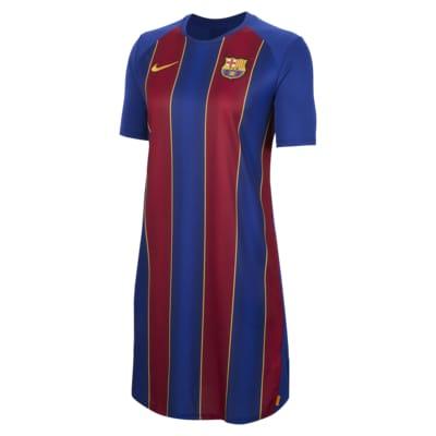 Vestido de tejido de punto de fútbol para mujer FC Barcelona
