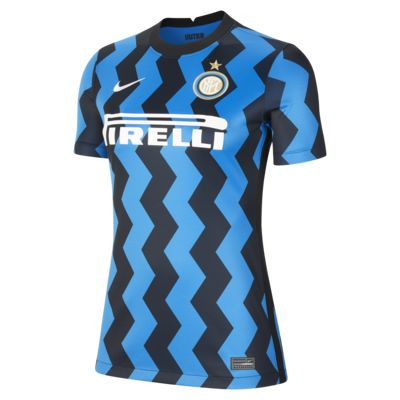 Inter Milan 2020/21 Stadium Home-fodboldtrøje til kvinder