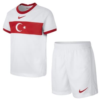 Tyrkiet 2020 Home-fodboldsæt til mindre børn