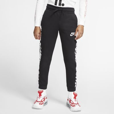Nike Sportswear Swoosh-frottébukser til store børn (drenge)