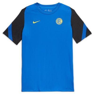 Мужская игровая футболка с коротким рукавом Inter Milan Strike