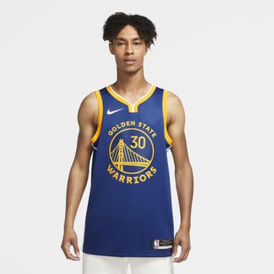 Camiseta Nike NBA Swingman Stephen Curry Warriors Icon Edition 2020