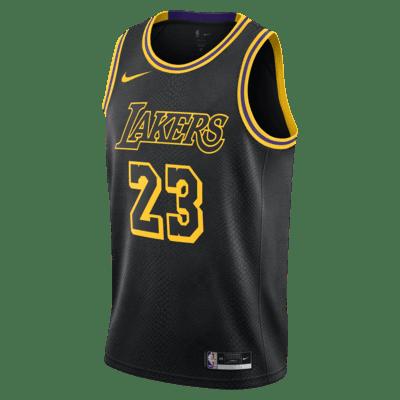 LeBron James Lakers Nike NBA Swingman Jersey. Nike MY