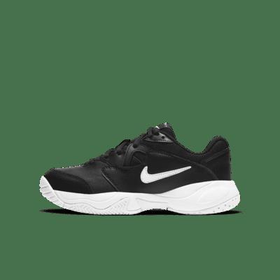 NikeCourt Jr. Lite 2 Big Kids' Tennis Shoes