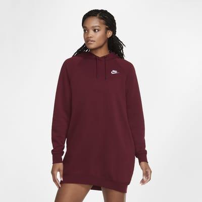 Nike Sportswear Essential kjole i fleece til dame