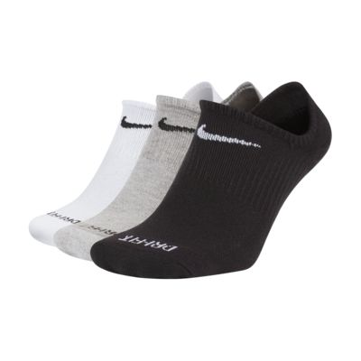 Chaussettes de training invisibles Nike Everyday Plus Cushioned (3 paires)