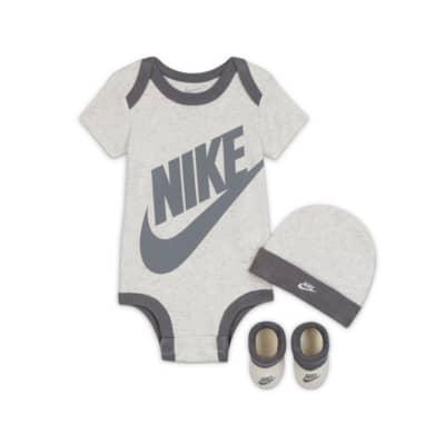 Bodysuit, Hat and Booties Box Set. Nike.com