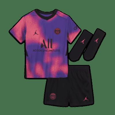 Divisa da calcio Paris Saint-Germain 2021/22 per neonati/bimbi piccoli - Quarta