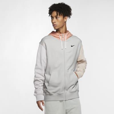 Felpa con cappuccio e zip a tutta lunghezza Nike Sportswear Club Fleece - Uomo