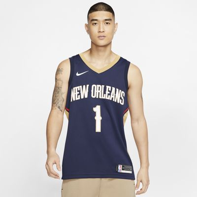 Maillot Nike NBA Swingman Zion Williamson Pelicans Icon Edition pour Homme