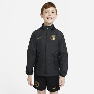 Ποδοσφαιρικό τζάκετ FC Barcelona για μεγάλα παιδιά