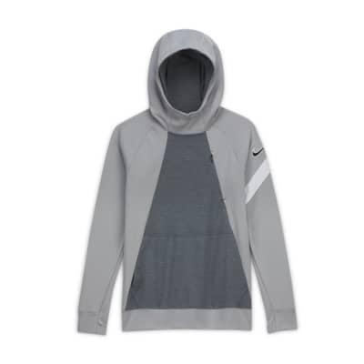 Nike Dri-FIT Academy Big Kids' Pullover Soccer Hoodie