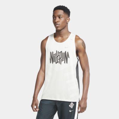 Nike Dri-FIT Rise 365 Wild Run Hardlooptanktop voor heren