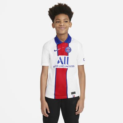 Paris Saint-Germain 2020/21 Stadium Away Older Kids' Football Shirt