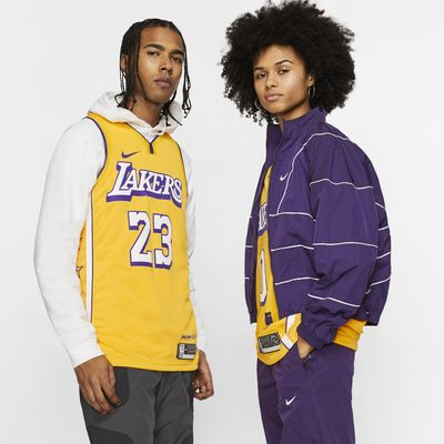 เสื้อแข่ง Nike NBA Swingman LeBron James Lakers – City Edition