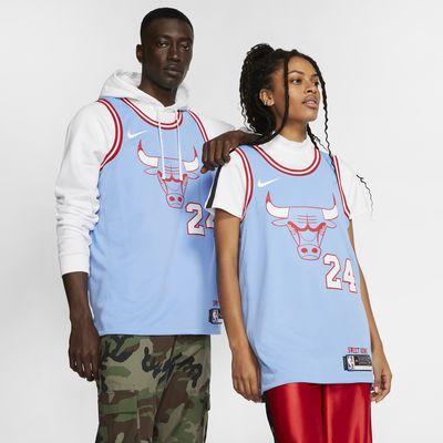Lauri Markkanen Bulls – City Edition Nike NBA Swingman Jersey