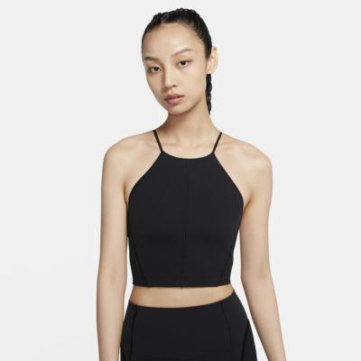 Kort Nike Yoga Infinalon-tanktop til kvinder