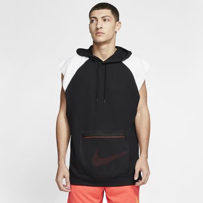 Мужская флисовая худи для тренинга без рукавов Nike Dri-FIT