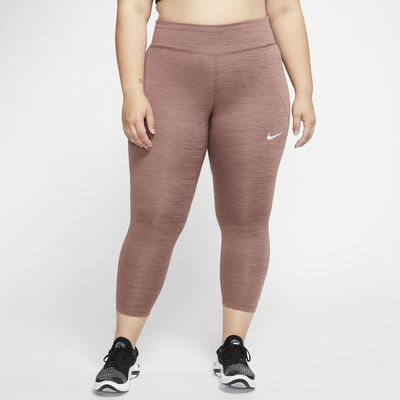 Nike Fast Women's Cropped Running Tights (Plus Size)
