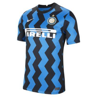 Fotbollströja Inter Milan 2020/21 Stadium (hemmaställ) för män