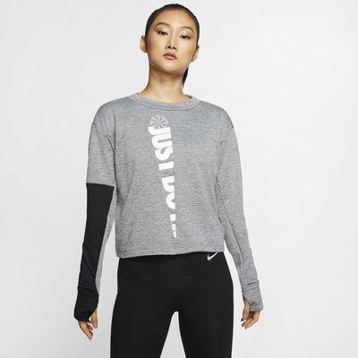 Dámské běžecké tričko Nike Therma Sphere Icon Clash s dlouhým rukávem