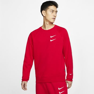 Nike Sportswear Swoosh French Terry 男子圆领上衣
