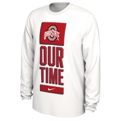 Nike College Dri-FIT (Ohio State) Men's Long-Sleeve T-Shirt