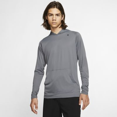 Hurley Quick Dry Men's Pullover Hoodie Top