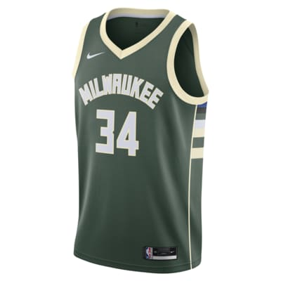Giannis Antetokounmpo Bucks Icon Edition 2020 Nike NBA Swingman Jersey