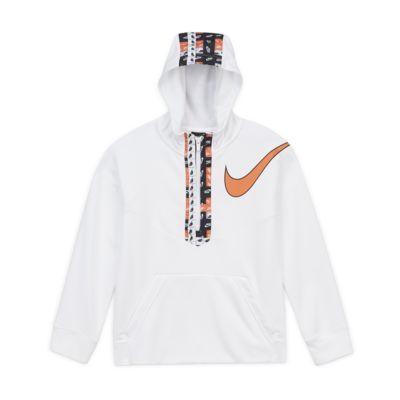 Nike Dri-FIT Older Kids' (Boys') Graphic Half-Zip Training Hoodie